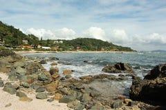 Spiaggia Penha - Santa Catarina - nel Brasile Fotografie Stock