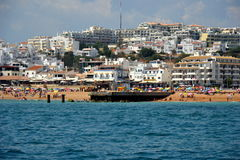 Spiaggia Pescadores Fotografia Stock Libera da Diritti