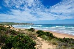 Spiaggia in Philip Island Fotografia Stock Libera da Diritti