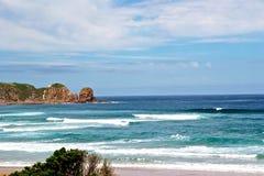 Spiaggia in Philip Island Immagine Stock Libera da Diritti