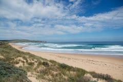 Spiaggia in Philip Island Immagini Stock