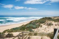 Spiaggia in Philip Island Fotografia Stock
