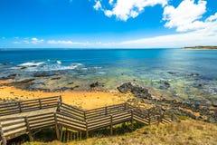 Spiaggia Phillip Island di Flynns Immagine Stock Libera da Diritti