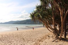 Spiaggia Phuket di Patong Immagine Stock
