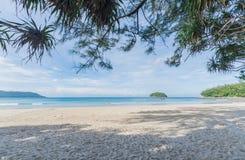 spiaggia Phuket, Tailandia di kata Fotografia Stock Libera da Diritti