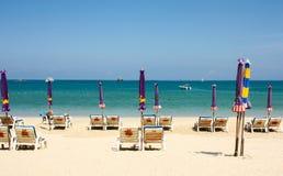 Spiaggia Phuket, Tailandia di Patong Fotografie Stock