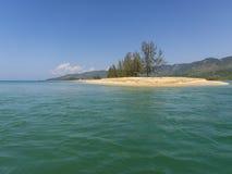Spiaggia piacevole in Birmania Immagine Stock