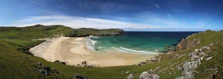 Spiaggia piena di sole del dalmore Immagini Stock