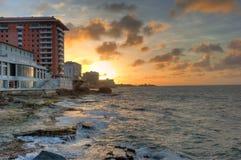 Spiaggia Porto Rico Fotografia Stock