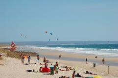 Spiaggia portoghese Fotografia Stock