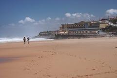 Spiaggia portoghese Immagini Stock Libere da Diritti