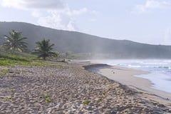 Spiaggia portoricana Fotografia Stock