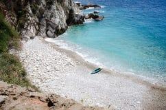 Spiaggia privata Fotografie Stock
