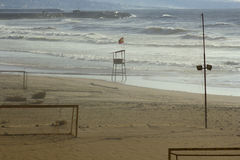 Spiaggia pubblica a Beirut, Libano Fotografia Stock Libera da Diritti