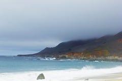 Spiaggia a punto Sur Immagine Stock