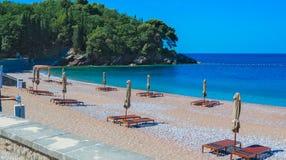 Spiaggia reale, Milocer Immagini Stock