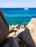 Spiaggia Rena Di Ponente - Sardinia italy Fotografering för Bildbyråer