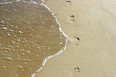Spiaggia, resto, libertà Immagine Stock