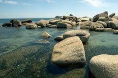 Spiaggia, resto, libertà fotografie stock libere da diritti