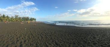 Spiaggia in Reunion Island Fotografie Stock Libere da Diritti