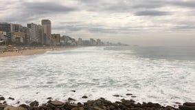 Spiaggia/Rio de Janeiro di Leblon Fotografia Stock