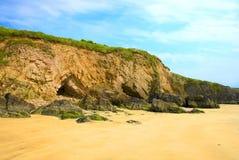 Spiaggia rocciosa Immagine Stock Libera da Diritti