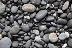 Spiaggia rocciosa in Islanda Fotografia Stock Libera da Diritti