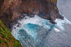 Spiaggia rocciosa in Tenerife, isole Canarie Immagine Stock
