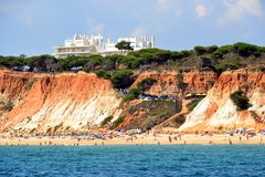 Spiaggia Rocha Baixinha Fotografie Stock Libere da Diritti
