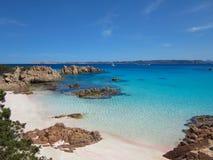 Spiaggia Rosa (Różowa plaża) Obrazy Royalty Free