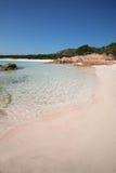 Spiaggia Rosa (rosa Strand) Stockfotos