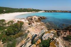 Spiaggia Rosa (rosa Strand) Lizenzfreies Stockfoto