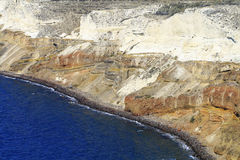 Spiaggia rossa Immagini Stock