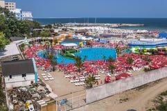 Spiaggia rumena Fotografia Stock Libera da Diritti