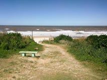 Spiaggia rurale Immagini Stock