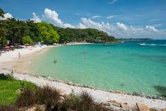 Spiaggia sabbiosa nell'isola tailandese Ko Samet Immagine Stock
