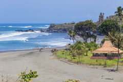 Spiaggia sabbiosa non trattata Immagini Stock Libere da Diritti