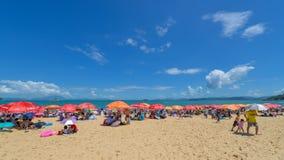 Spiaggia sabbiosa, piscina Immagini Stock Libere da Diritti
