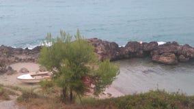 Spiaggia salentina Arkivfoto