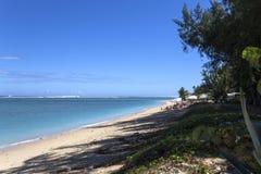 Spiaggia salina della La, La Reunion Island, Francia Fotografia Stock