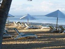 Spiaggia Sanur Bali di luce solare Immagini Stock Libere da Diritti