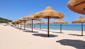 Spiaggia - Sardegna. Splendida spiaggia in Sardegna. Costa sud occidentale royalty free stock photography