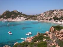 Spiaggia in Sardegna (Italia) Immagini Stock Libere da Diritti