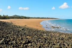 Spiaggia in Sarina, Queensland Fotografie Stock