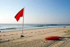 Spiaggia scenica Fotografie Stock