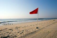 Spiaggia scenica Immagine Stock