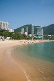 Spiaggia scenica famosa della baia di rifiuto fotografie stock libere da diritti