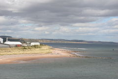 Spiaggia scozzese fotografia stock