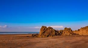 Spiaggia selvaggia immagini stock libere da diritti