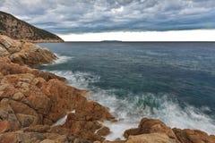 Spiaggia selvaggia Fotografia Stock
